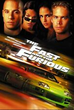 The Fast and the Furious - A3 Film Poster - FREE UK P&P