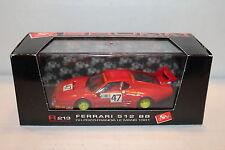 BRUMM R213 Ferrari 512 BB 1981 Ch. Pozzi Ferrari France Le Mans - 1/43 model car
