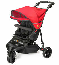 Brand new Out n About little nipper single stroller poppy red with pvc & basket