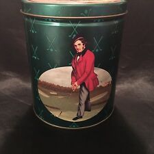 Collectible Can.  Maurice Lenell 1998 Shortbread Cookies. Featuring Golf.