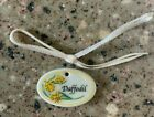 FREE SHIPING -LONGABERGER  Tie-On for MINIATURE DAFFODIL Basket -NEW-
