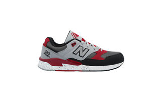 [M530PSB] New Balance 530 Mens Casual Sneakers Grey/Red