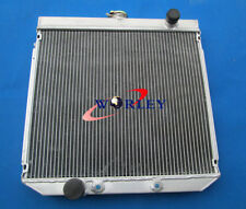 Aluminum Radiator For FORD FALCON FAIRLANE XY XW 302 6CYL 69-72 AT/MT