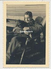 Photo soldat avec chien/dog 2.wk (950)