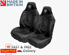 SKODA CAR SEAT COVERS PROTECTORS SPORTS BUCKET HEAVYWEIGHT WATERPROOF - OCTAVIA