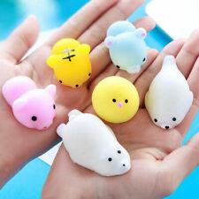 50 Squishy Lot Slow Rising fidget toy Kawaii Cute Animal Hand Toy Wholesale