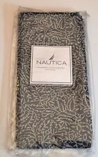 Nautica Mataram Indigo Navy Blue 100% Cotton Napkins Set Of 4
