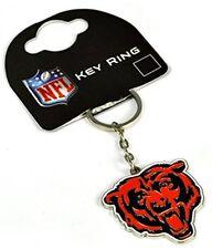 NFL Football CHICAGO BEARS Metall Schlüsselanhänger Keyring