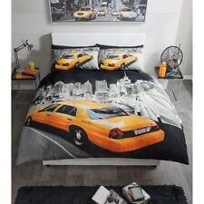 Parures et housses de couette noirs modernes pour chambre à coucher
