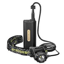 Nitecore HC70 Rechargeable Light Weight Headlamp - External Battery Case