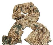 Tactical Scrim Net Commando Hunting  Face Veil Scarf Netting Desert flecktarn