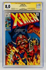 X-Men #51 CGC 8.0 White Pages Signed By Jim Steranko Signature Series Autograph