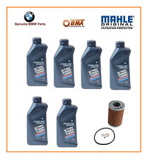 E46 M3 Genuine BMW 10W60 Oil w/Mahle OIL FILTER 7 QUARTS E46 M3 Genuine OIL KIT