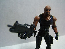 """Custom 3.75"""" Resident Evil LUTHER WEST figure - poseable & MADE TO ORDER"""
