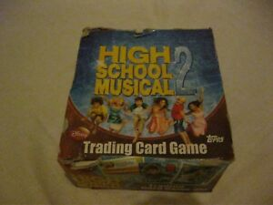 TOPPS TRADING CARDS BOX of HIGH SCHOOL MUSICAL 2 Contains 50 x PACKS