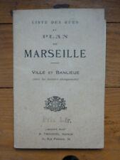 Plan de Marseille, edition Tacussel
