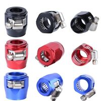 4Pcs Various Hose Clamp Hose Finishers Clamp Flare Fitting Hose End Cover Clamp