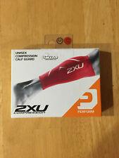 2XU Compression Calf Guards XL Red