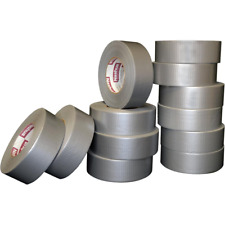 1.89 in x 60 yd 394 General Purpose Duct Tape Silver Pro Pack 12 Pack Rubber