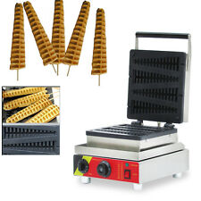 Commercial Nonstick Electric 4pcs Lolly Waffle Stick Baker Maker 110V