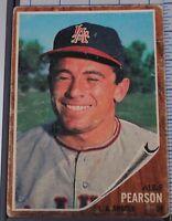 1962 Topps Baseball #343 Albie Pearson J62TBB343-181113