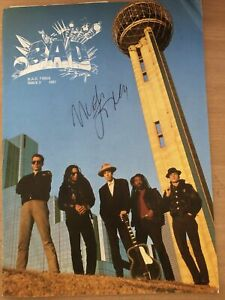 Big Audio Dynamite Signed Mick Jones(The Clash) Tour Programme 1987