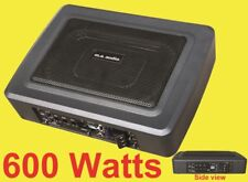 6X9 inch ported built in Amplifierd speaker box 600w design to fit in small CARS