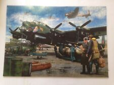 Wentworth Wooden Jigsaw 500 Pieces 'Lancaster War Plane'