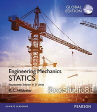 NEW Engineering Mechanics Statics 14E Russell C. Hibbeler 14th Si Units Edition