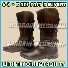 Leather Vintage Boots for Men