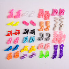 Random Shoes Heels Sandals For Barbie Doll Fashion Party Dress 2 Pairs Toy UK