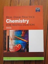SAP - Chemistry (Real Exam Practice for Matriculation) SK026