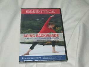 Essentrics: Aging Backwards DVD NEW Connective Tissue Workouts Stretch Sealed