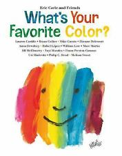 What's Your Favorite Color? by Eric Carle (2017)