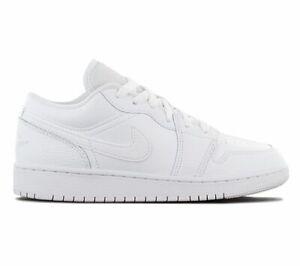 Nike AIR JORDAN 1 Low Sneaker Weiß 553560-091 Freizeit Sport Schuhe Turnschuhe