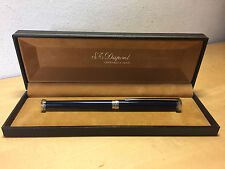 Used - Pen S.T. DUPONT - Plata & Laca China - Silver & Laque Chine - With Box