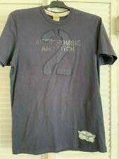 Abercronmbie & Fitch Navy Blue Mens T-Shirt Size Large Muscle Vintage Tee