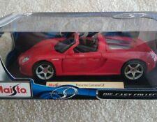 Porsche Carrera GT Red Maisto Special Edition 1:18