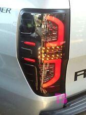 SMOKE LENS LED TAIL LIGHT LAMP FOR FORD RANGER T6 WILDTRAK 2013-2015 TRUCK 4X4
