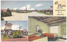 Linen Postcard Motel El Patio in Ensenada, Baja California, Mexico~105180