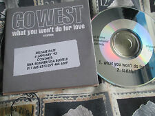 Go West ‎– What You Won't Do For Love Promo Chrysalis ‎– CDGOW10 CD Single