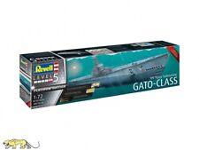 Revell 05168 Gato-Class - US Navy Submarine - Platinum Edition - 1:72