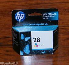 Genuine HP 28 (C8728AN#140) (240 Page Yield) Tri-Color Ink Cartridge *EXPIRED*