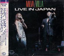 MILVA & Claudio VILLA Live In Japan RARO CD OBI GIAPPONE Il Mondo Tutto Va Bene