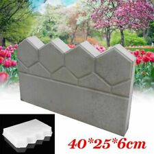 Garden Brick Fence Mold Cement Stone Concrete Pool Pond Courtyard Lawn Mould