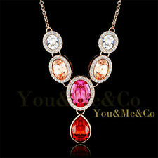 Sapphire Crystal Costume Necklaces & Pendants