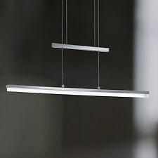 WOFI lámpara colgante LED Gwen Níquel Acrílico Dimmer de tacto altura regulable