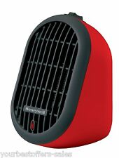 Ceramic Electric Heater Portable Red Electric Space Heaters Personal Heater New