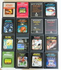 Lot of 16 Atari 2600 Games #1