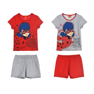 Miraculous: Tales Of Ladybug & Cat Noir Short Sleeve Pyjamas for Girls